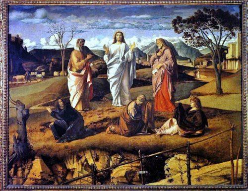 TRASFIGURAZIONE DI CRISTO (Transfiguration of Christ) – Giovanni Bellini