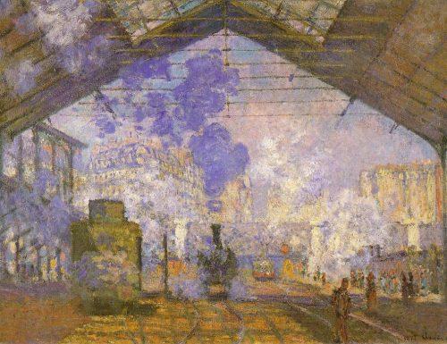 STAZIONE DI SAINT-LAZARE (La Gare Saint-Lazare) – Claude Monet