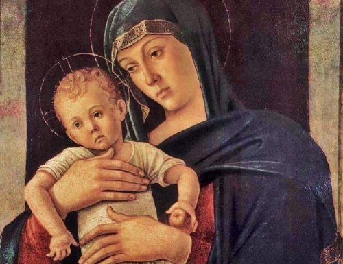 MADONNA COL BAMBINO (Virgin and Child) – Giovanni Bellini