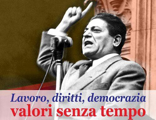 GIUSEPPE DI VITTORIO – Sindacalista antifascista italiano