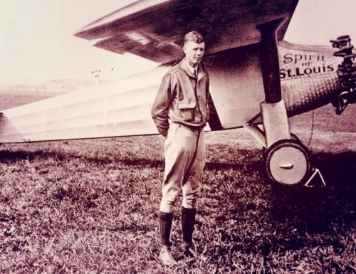 SPIRIT OF St LOUIS – Charles Augustus Lindbergh