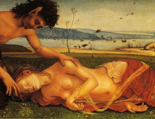 MORTE DI PROCRI (Death of Procris) – Piero di Cosimo