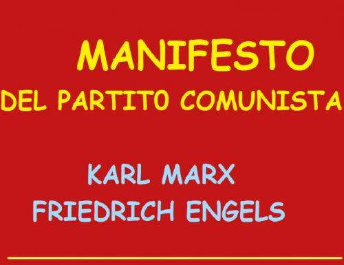 MANIFESTO DEL PARTITO COMUNISTA – Karl Marx e Friedrich Engels