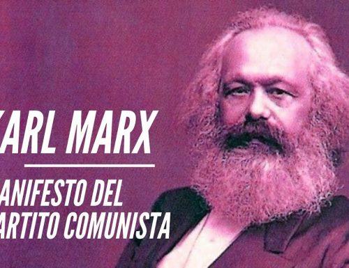 1 – MANIFESTO DEL PARTITO COMUNISTA (Borghesi e proletari) – MARX – ENGELS