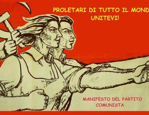 4 – MANIFESTO DEL PARTITO COMUNISTA – PROLETARI DI TUTTO IL MONDO, UNITEVI! – Marx e Engels