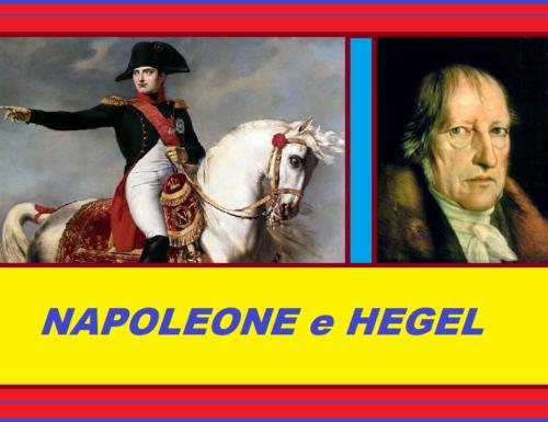NAPOLEONE e HEGEL – Il grande professore di diritto