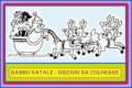 BABBO NATALE - Disegni da colorare
