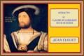 RITRATTO DI CLAUDE DE LORRAINE DUCA DI GUISA - Jean Clouet