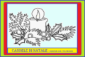 CANDELE DI NATALE - Disegni da colorare