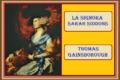 LA SIGNORA SARAH SIDDONS - Thomas Gainsborough