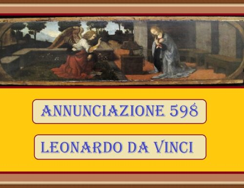 ANNUNCIAZIONE 598 – Leonardo da Vinci