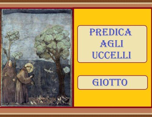 PREDICA AGLI UCCELLI – Giotto